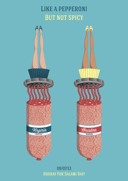 Salami Day fan art